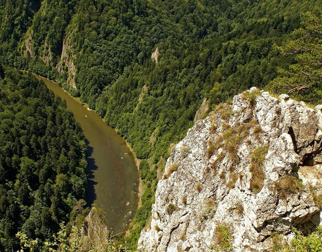 Rzeka Dunajec w Pieninach