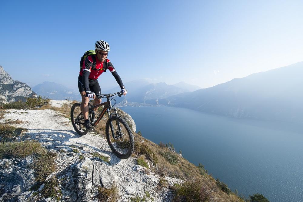Rower górski w akcji